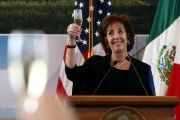 United States Ambassador to Mexico Roberta Jacobson was generally well regarded, according to Mexican diplomats.