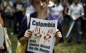 Nearly 170 social leaders have been killed in Colombia in 2017, according to the Institute of Studies for Peace Development.