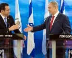 Guatemalan President Jimmy Morales has close ties with Israeli Prime Minister Benjamin Netanyahu.