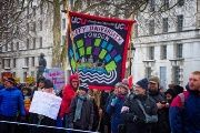 An image from a University and College Union rally in London on February 28th.