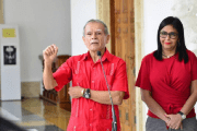 Oscar Lopez Rivera held a meeting with Delcy  Rodriguez, the president of the National Constituent Assembly, or, ANC.