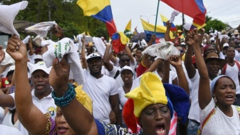 Colombia has been site of numerous mass protests in recent years over rising poverty and inequality.
