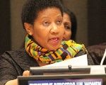 Phumzile Mlambo-Ngcuka, executive director of U.N. Women.
