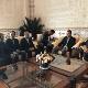 En el encuentro también participaron también el viceministro de Articulación Económica del Ministerio de Economía,Xabier León,y el embajador venezolanoJosé Sojo.