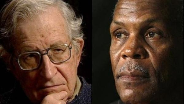 Noam Chomsky and Danny Glover are among the 154 activists who signed the open letter.