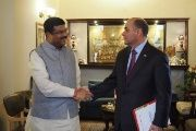 In a visit to India, the Venezuelan delegation and Indian authorities agreed to design a strategic commercial alliance.