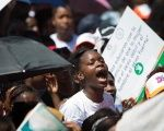 Thousands of women marched in the Dominican Republic capital on Sunday to demand that abortion be decriminalized.