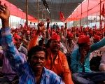 India's Farmers March Under Red Flag, Demand Agrarian Reform