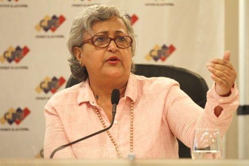La presidenta del CNE destacó que el cronograma avanza para dar fiel cumplimiento a las garantías del proceso electoral.