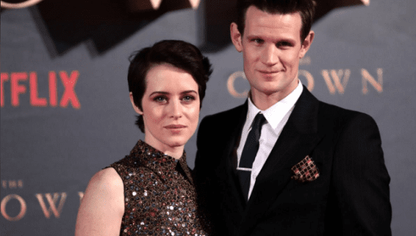 "Actors Claire Foy, who plays Queen Elizabeth II, and Matt Smith who plays Philip Duke of Edinburgh, attend the premiere of ""The Crown"" Season 2 in London, Britain, November 21, 2017."