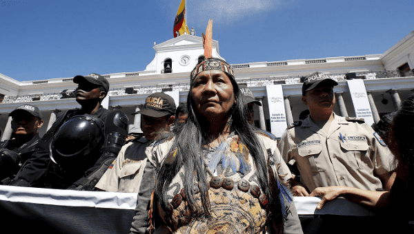 Indigenous women and nationalities have resisted extractive industries for decades.