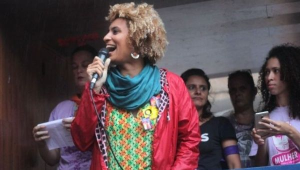 Marielle Franco, a Black activist and city councilwoman in Rio de Janeiro, was assassinated on her way home last night.