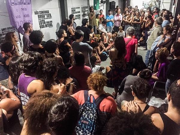 A vigil was organized as a tribute to Franco.