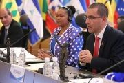 Jorge Arreaza at the XXIII Ordinary Meeting of the Council of Ministers of the Association of Caribbean States.