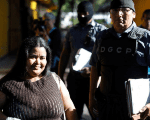 Figueroa Marroquín was released from the prison Tuesday after the Ministry of Justice commuted her sentence.