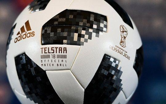 Telstar 18 es la pelota oficial de la Copa Mundial de Fútbol 2018.  68736525e1343