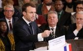 French President Emmanuel Macron continues to push for the controversial reforms, including cutting 120,000 federal jobs by 2022.