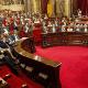 La resolución aprobada fue propuesta por los partidos de JxCat y ERC.