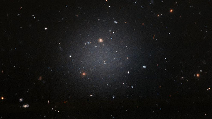 La galaxia encontrada es