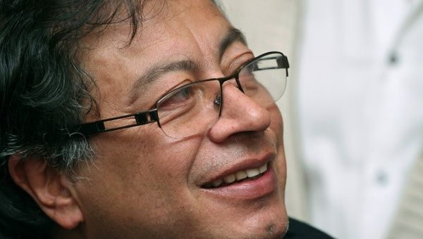 Gustavo Petro, presidential candidate