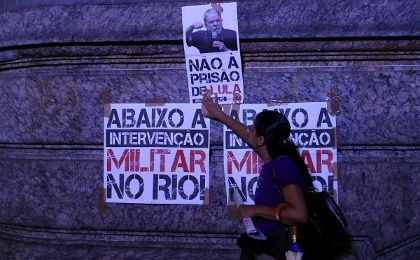 Protests broke out across Brazil, both in support of and in opposition to Lula, as the Supreme Court deliberated his fate.