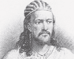 Ethiopia's Emperor Tewodross II reigned between February 1855 and April 1868, when the city of  Mek'dela was sacked by the British.