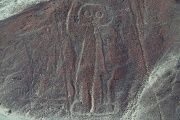 Unlike Nasca lines, which are only visible from above, many of the newly discovered images were drawn on hillsides.