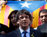 Former Catalan leader addressed journalists in Berlin.