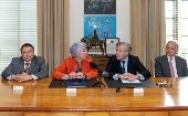 OAS Secretary General Luis Almagro vowed to contribute to