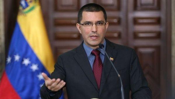 Venezuelan Foreign Minister Jorge Arreaza.