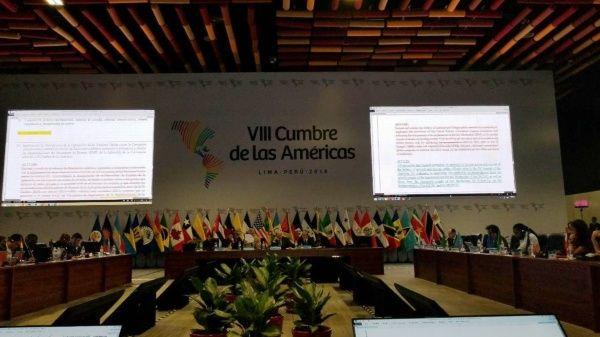 La Cumbre de las Américas se realizará entre el 13 y 14 de abril.
