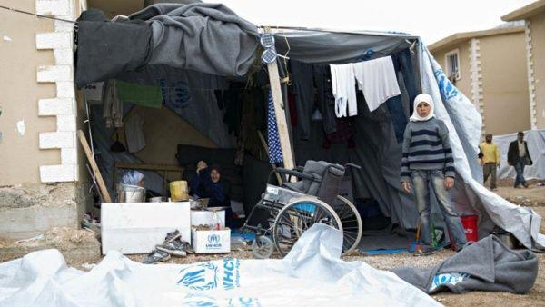 Actualmente la cantidad de refugiados internos en Siria sobrepasa los límites de la Acnur.