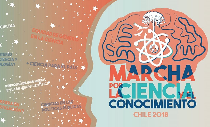 An estimated 4,500 Chilean scientists and academics will march simultaneously with colleagues in over 500 cities around the world.