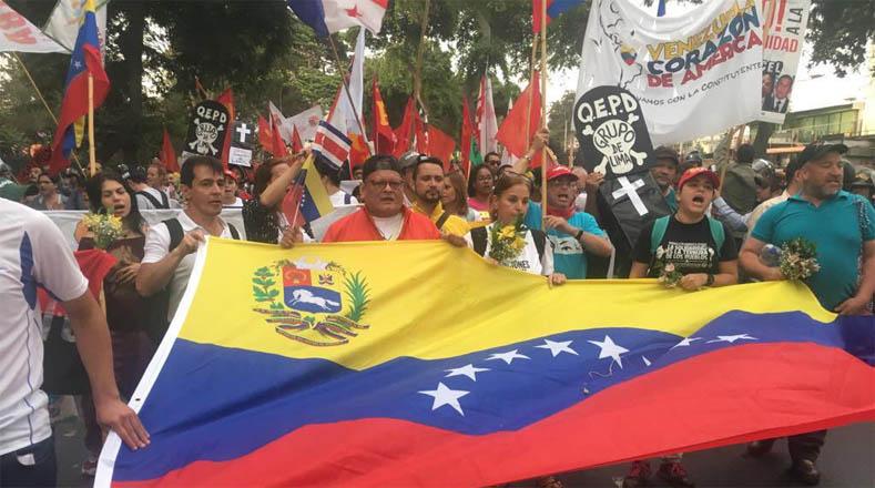 Los participantes condenaron la agresión constante por parte de Estados Unidos (EE.UU.) y de los Gobiernos neoliberales de la región hacia Venezuela.