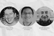 Journalist Javier Ortega, photographer Paul Rivas and driver Efrain Segarra were kidnapped on March 26 on Ecuador's northern border.