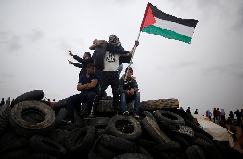 The Great March of Return began on March 30. Seventeen unarmed Palestinians were killed by sniper fire.