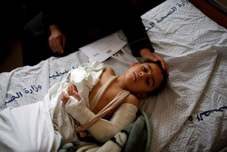 """Targeted"" attacks by Israeli snipers have wounded and killed children."