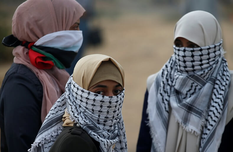 On April 20, Palestinian women will be lead protests with a women march.