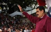 """I was seeing reports of some empty speeches by right-wing, unpopular, murderous, imperialist lackey presidents,"" Maduro said."