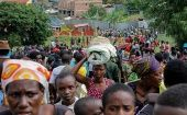 According to reports Congolese nationals are resettling in the Kyangwali camp in Uganda.