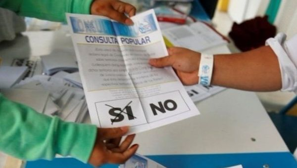Guatemalans voted on whether to ask the ICJ to resolve the colonial era Belize border conflict.