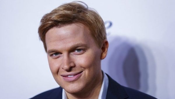 Television personality Ronan Farrow arrives for the opening night of the Women in the World summit in New York April 22, 2015.