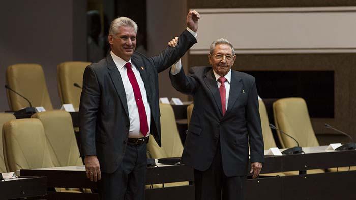 Con 603 votos a favor Miguel Díaz-Canelfue elegido por la Asamblea Nacional del Poder Popular como presidente de Cuba este jueves 19 de abril.