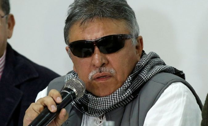 Jesus Santrich is a congressman for the Revolutionary Alternative Forces of the Commons.