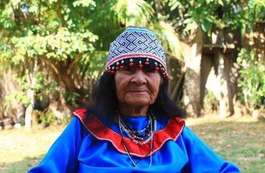 Olivia Arévalo fue cultora de conocimientos tradicionales de su etnia.