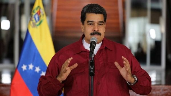 """Yankee imperialism is obsessed with the Bolivarian Revolution,"" President Nicolas Maduro said, condemning foreign interference."