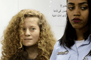 Ahed Tamimi was arrested on Dec. 19 after a video of her slapping two Israeli soldiers outside her home in the occupied West Bank village of Nabi Saleh