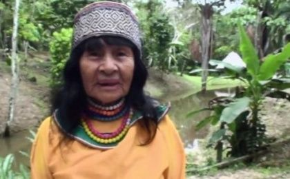 Olivia Arevalo Lomas, 89, was a defender of Indigenous people
