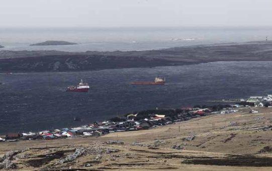 Las Malvinas, reclamadas por Argentina, forman parte de las colonias actuales.