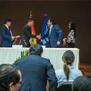Larga vida a UNASUR. Larga vida a la integración soberana y solidaria de los pueblos de América Latina y el Caribe.